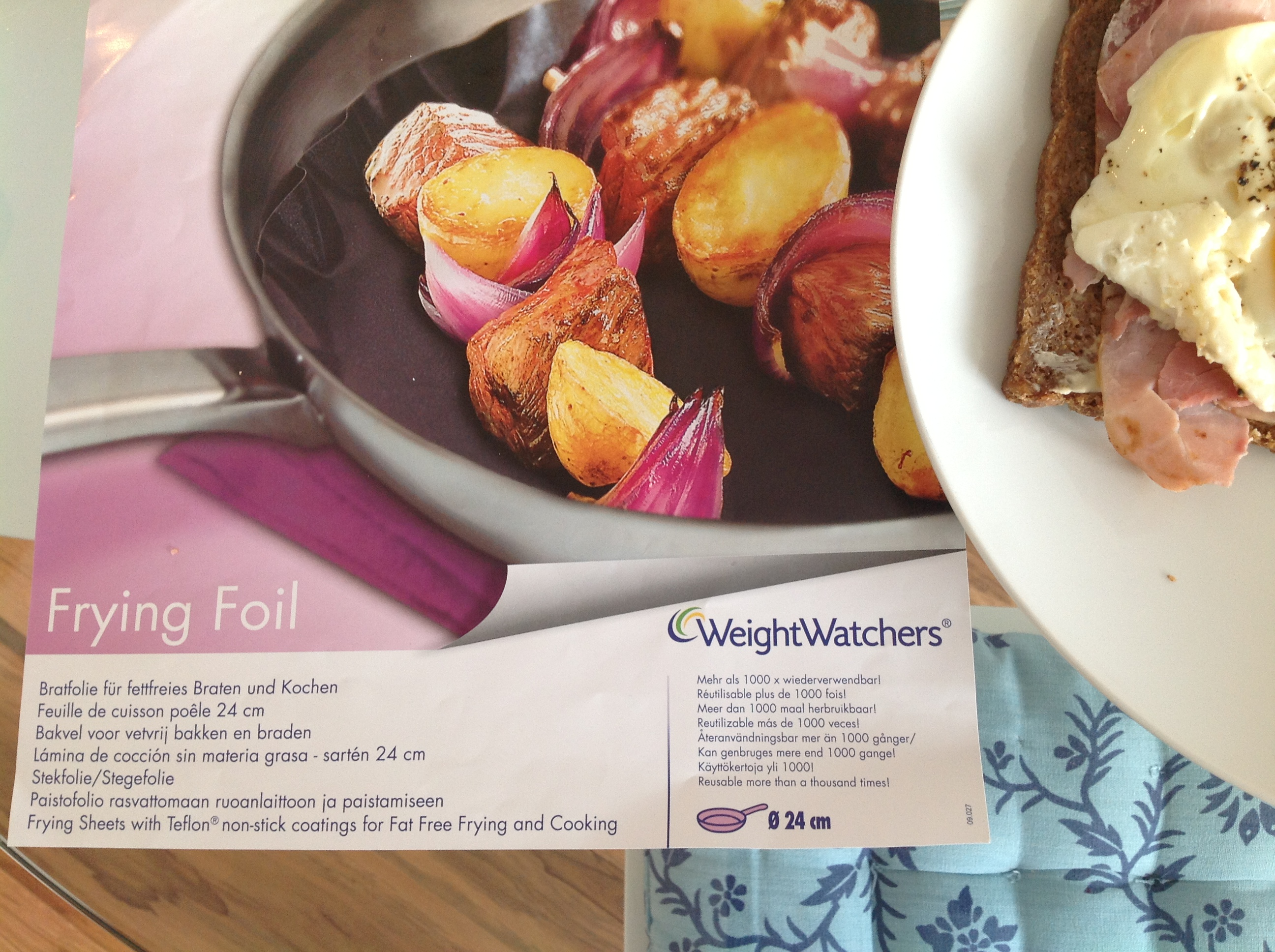 WeightWatchers Brat- und Backfolie - ein Produkttest