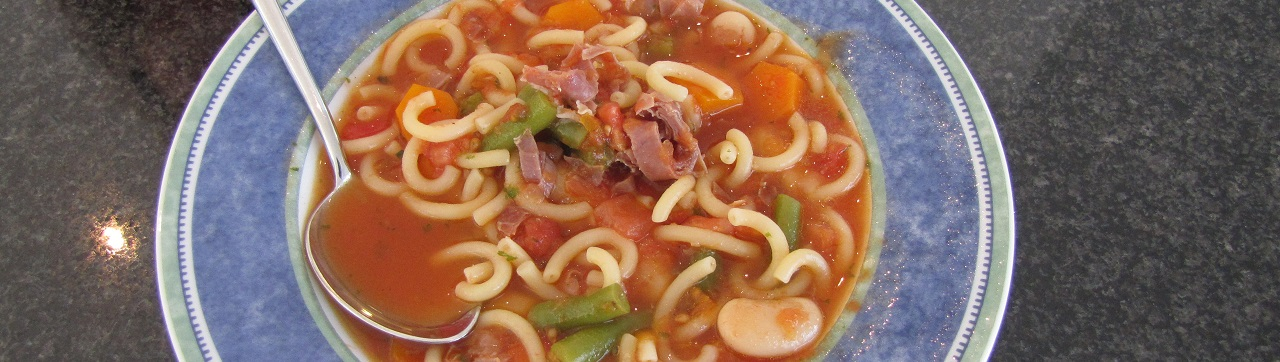 Minestrone als WeightWatchers-Sattmacher