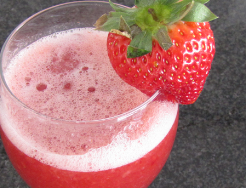 Der Frühling kommt! Erdbeer-Smoothie für 0 ProPoints!