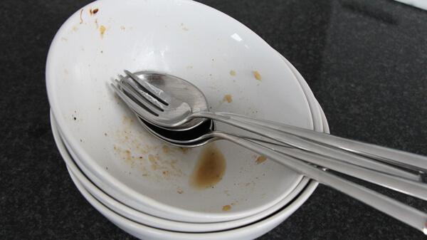 leer_gegessen
