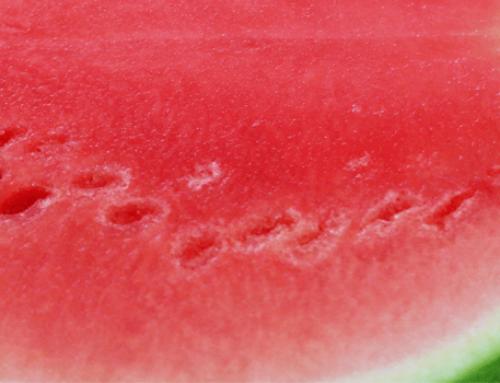 Wasser aufpeppen mit Wassermeloneneiswüfeln – toll für eine Party