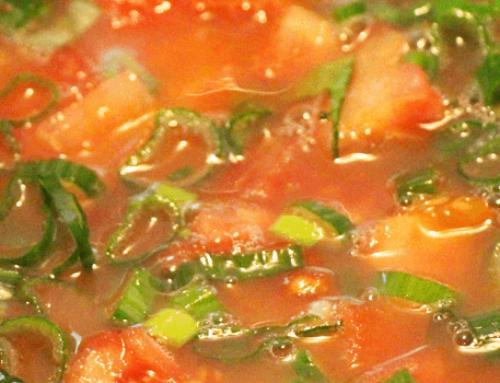 Gefüllte Paprika als Gemüsesuppe | Sattmacher | Weight Watchers | Rezept