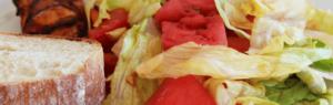 Salat_mit_Wassermelone_und_Feigenessig_Artikelbild_fuer_Weight_Watchers