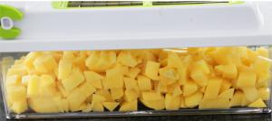 Kartoffeln schneiden mit dem Nicer Dicer