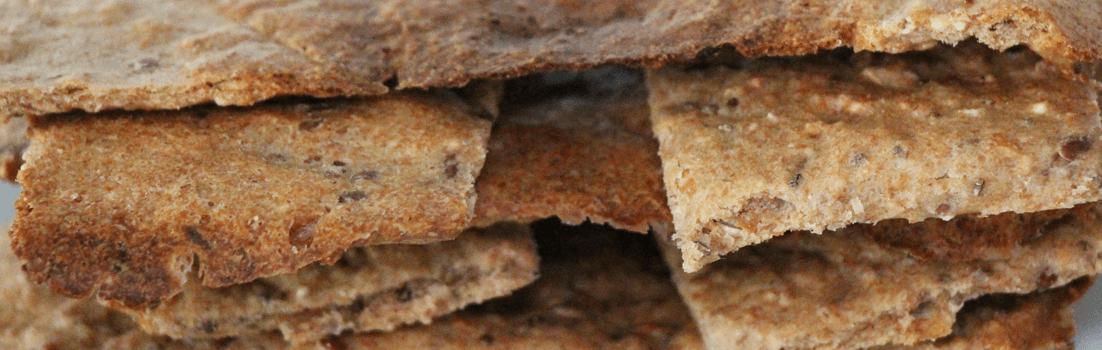 Knäckebrot mit Chia-Samen backen