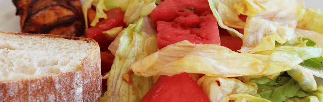Salat mit Wassermelone und Feigenessig | Weight Watchers Rezept